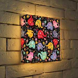 FotonioBox Лайтбокс Слоники 25x25-007 контейнер luminarc pure box active 1 45l l0967