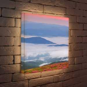FotonioBox Лайтбокс Туман в горах 45x45-033 цветной тм туман в горах