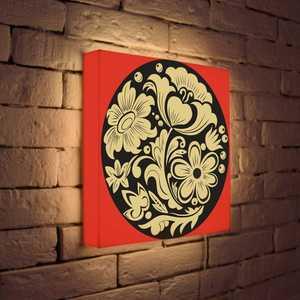 FotonioBox Лайтбокс Узор Цветочки 35x35-032 лайтбокс nyc 35x35 105