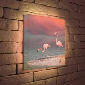 FotonioBox Лайтбокс Фламинго 35x35-022 перфоратор кратон rhe 450 12 3 07 01 022