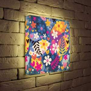 FotonioBox Лайтбокс ''Цветочки'' 35x35-010