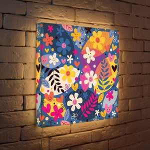 FotonioBox Лайтбокс Цветочки 45x45-010 fotoniobox лайтбокс цветочки 25x25 010