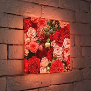"""FotonioBox Лайтбокс """"Цветы"""" 25x25-097"""