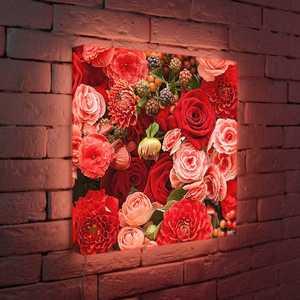 """FotonioBox Лайтбокс """"Цветы"""" 45x45-097"""