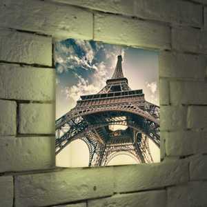 FotonioBox Лайтбокс Эйфелева башня 25x25-023 cubicfun эйфелева башня франция