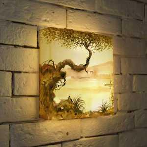 FotonioBox Лайтбокс ''Японское дерево'' 25x25-156