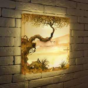 FotonioBox Лайтбокс Японское дерево 45x45-156