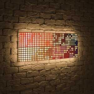 FotonioBox Лайтбокс панорамный Сигналы 45x135-p025 fotoniobox лайтбокс панорамный лондон 45x135 p003