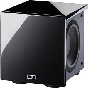 Сабвуфер Heco New Phalanx Micro 202A piano black напольная акустика heco music style 1000 piano black ash decor black