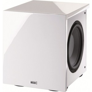 Сабвуфер Heco New Phalanx Micro 202A piano white напольная акустика heco music style 500 piano white ash decor white