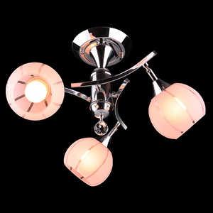 Люстра Eurosvet 3353/3 хром/розовый