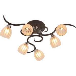 Люстра IDLamp 213/6PF-Blackchrome потолочная люстра id lamp anchorage 211 6pf blackchrome