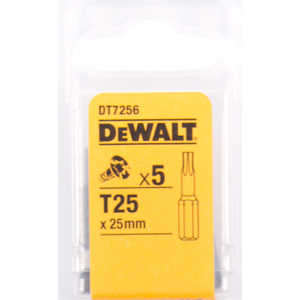 Бит DeWALT TX25 х25мм 5шт Torsion (DT 7256)