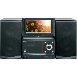 Музыкальный центр Mystery MMK-825U black магнитола mystery bm 6108u black cd mp3