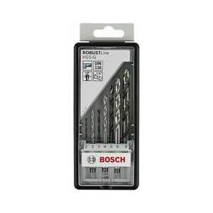Набор сверл по металлу Bosch 2.0-8.0мм 7шт HSS-G Robust Line (2.607.019.922)