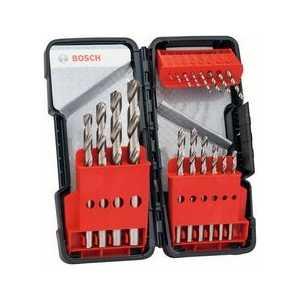 Набор сверл по металлу Bosch 1.0-10.0мм 18шт HSS-G Tough Box (2.607.019.578) пила дисковая bosch gks 55 g 601682000