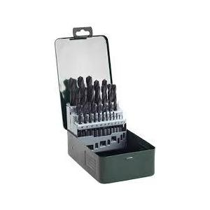 Набор сверл по металлу Bosch 1.0-13мм 25шт HSS-R Promoline (2.607.019.446)