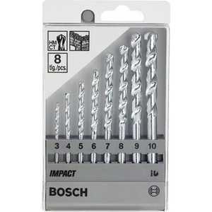 Набор сверл по бетону Bosch 3.0-10.0мм 8шт (2.607.018.366)