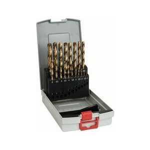 Фото - Набор сверл по металлу Bosch 1.0-10.0мм 19шт HSS-TIN ProBox (2.608.587.015) tin man