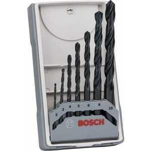 Набор сверл по металлу Bosch 2.0-10.0мм 7шт HSS-R X-Pro Line (2.607.017.036)