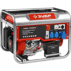 Генератор бензиновый Зубр ЗЭСБ-4500-Э генератор бензиновый зубр зиг 1200