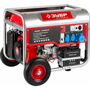 Генератор бензиновый Зубр ЗЭСБ-5500-ЭН генератор бензиновый зубр зиг 1200