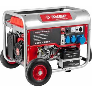Генератор бензиновый Зубр ЗЭСБ-4500-ЭНА генератор бензиновый зубр зиг 1200