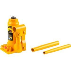Домкрат гидравлический бутылочный Stayer 12т 210-400мм Profi (43160-12) домкрат гидравлический бутылочный stayer profi 43160