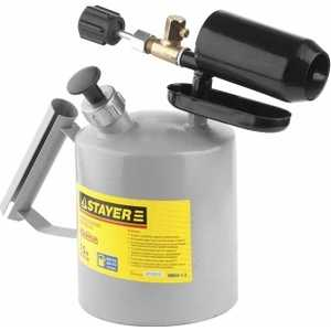 Паяльная лампа Stayer 1.5л Profi (40655-1.5) лента stayer profi клейкая противоскользящая 50мм х 5м 12270 50 05