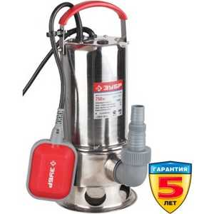 Насос погружной Зубр ЗНПГ-750-С насос погружной для грязной воды зубр знпг 550