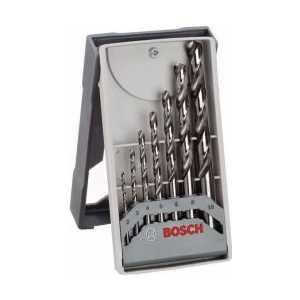 Набор сверл по металлу Bosch 2.0-10.0мм 7шт HSS-CO Mini X-Line (2.608.589.296) набор сверл по металлу bosch standard hss co din 338 5 шт