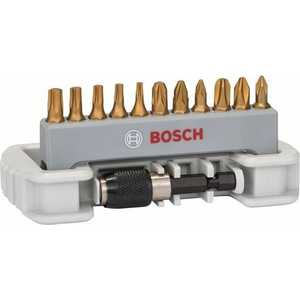 Набор бит Bosch х25мм PH/PZ/TX 12шт + держатель (2.608.522.126) набор бит bosch х25мм ph pz 12шт держатель max grip robust line 2 607 002 578