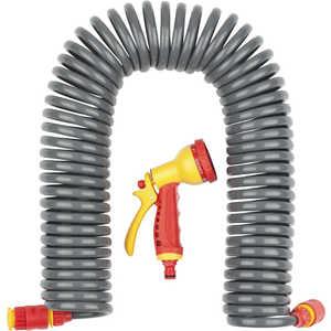 Набор поливочный Grinda 3/8 (9.5мм) 15м с фитингами и пистолетом (428495) набор поливочный grinda 4 предмета 8 427247