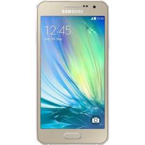 Смартфон Samsung Galaxy A3 Золотой (SM-A300FZDDSER) kakim bydet novyi samsung galaxy a3 v etom gody