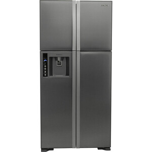 Холодильник Hitachi R-W 662 PU3 INX hitachi r w 662 pu3 ggr графитовое стекло