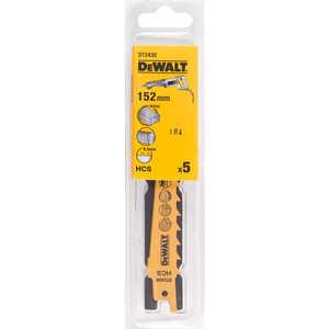 Полотно пильное DeWALT 152мм 5шт S617К (DT 2430)