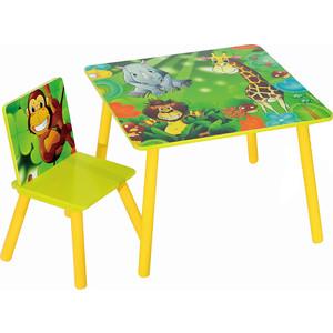 Набор детской мебели стол и стул Sweet Baby ''Uno'' (safari)