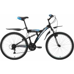 Велосипед Challenger Mission Black/Blue 20