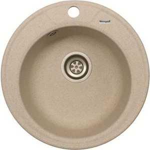 цена Мойка кухонная Weissgauff Rondo 480 Eco Granit белый