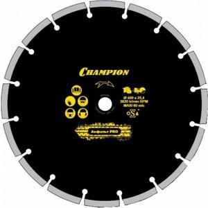 Диск алмазный Champion 350х25.4мм Asphafight (C1610)  диск алмазный champion асфальт pro 300 25 4 10 asphafight