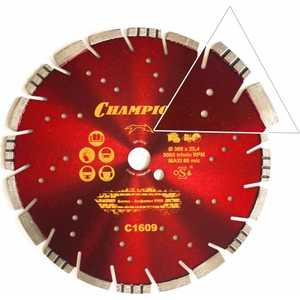 Диск алмазный Champion 300х25.4мм Mixtar (C1609) диск алмазный champion asphafight 350 25 4 10 асфальт с1606