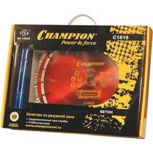 Набор алмазных дисков Champion 350х25.4мм Бетон PRO + Железобетон (C1616)
