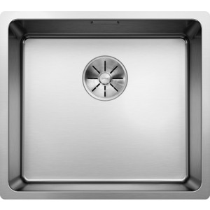 Мойка кухонная Blanco Andano 450-U нерж сталь зеркальная полировка без клапана-автомата (522963/519373) blanco claron 400 if а нерж сталь зеркальная