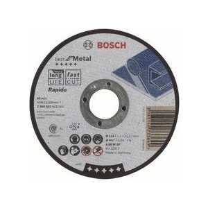 Диск отрезной Bosch 115х22.2х1.0мм Best for Metal Rapido (2.608.603.512)