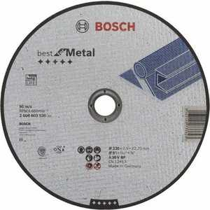Диск отрезной Bosch 230х22.2х2.5мм Best for Metal (2.608.603.530)