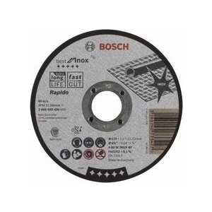 Диск отрезной Bosch 115х22.2х1.0мм Best for Inox Rapido (2.608.603.490)