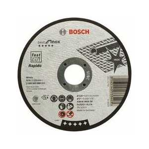 Диск отрезной Bosch 125х22.2х0.8мм Best for Inox Rapido (2.608.603.488)