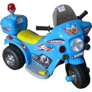 Электромотоцикл Jinjianfeng голубой 82х37х53 6V TR991