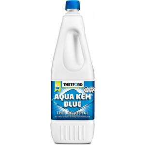 Жидкость для биотуалета Thetford Aqua Kem Blue 2л (Campa Blue) порошок для септиков и биотуалетов thetford для биотуалета aqua kem blue sach 12 шт