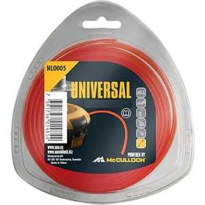 Леска триммерная UNIVERSAL 2.0мм 130м бесшумная Nylon Line (5776163-16) 8 0 0 50mm abrasion resistance nylon fishing line thread blue 100 m